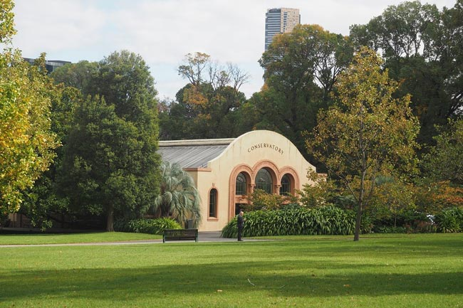 The Conservatory in Fitzroy Gardens